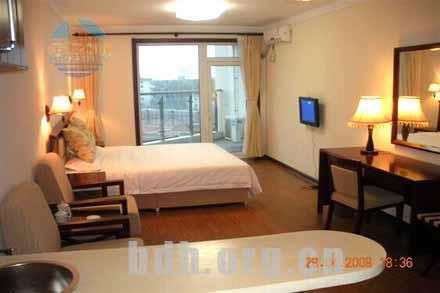 [南戴河宾馆]南戴河倚海45度公寓豪华情侣房