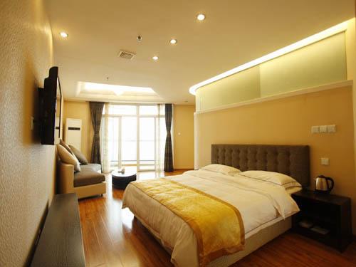 [南戴河宾馆]南戴河嶺澜国际大酒店大床房