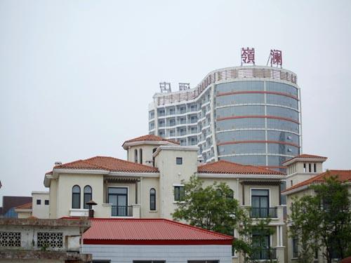 [南戴河宾馆]南戴河嶺澜国际大酒店外景