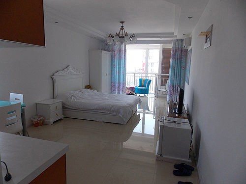 [南戴河宾馆]南戴河戴河国际公寓温馨情侣房全景展示